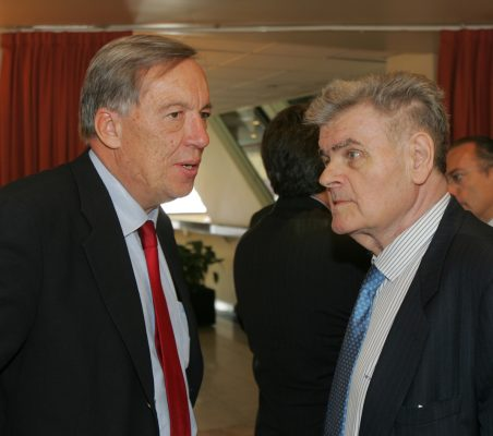 Carsten Moser y Walter Haubrich