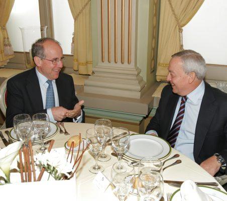 Luis Berenguer y Carlos Solchaga