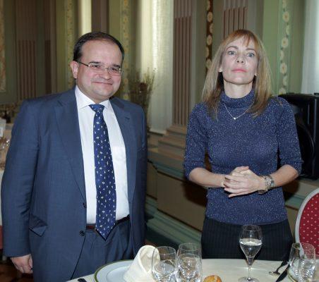 Carlos Álvarez y María Garaña