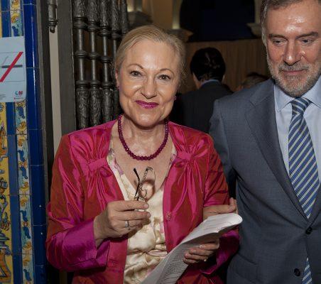 Benita Ferrero- Waldner y Manuel Méndez del Río