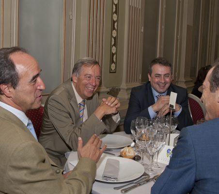 Jacinto López, Carsten Moser, Antoni Ballabriga y Borja Baselga