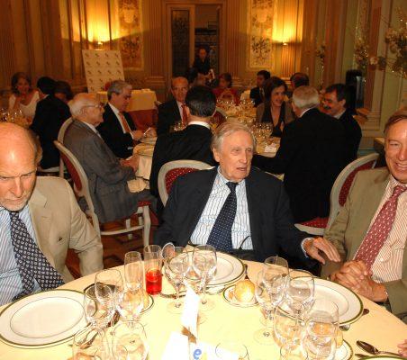 Felipe Fernández Atela, Francisco Pérez González y Carsten Moser