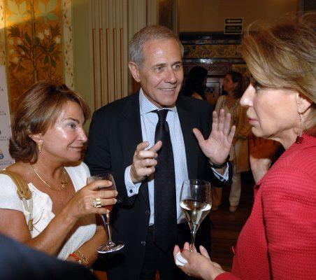Luisa Peña, Ramón Reyes y Gloria Barba