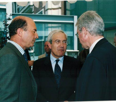 Miguel Iraburu, Pedro Pérez y Amadeo Petitbo