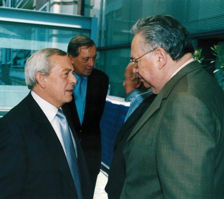 Carlos Solchaga y  Embajador Enrique Krauss