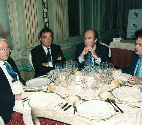 Amadeo Petitbo, Carlos Fernández-Lerga,Emilio Novela y Antonio Colino