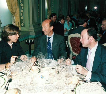 Leonor Ortíz Monasterio, Miguel Iraburu y Félix Losada