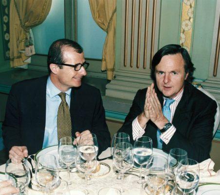 Rafael Guardans y Ricardo Martí Fluxá