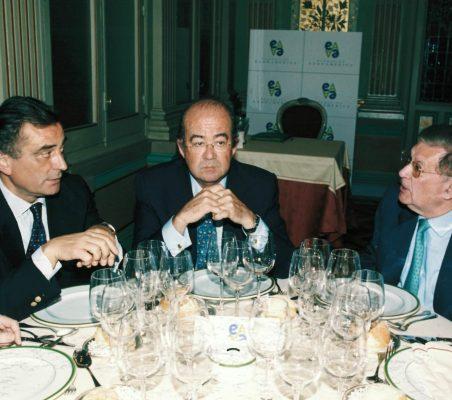 Carlos Fernández Lerga, Emilio Novela y Antonio Colino