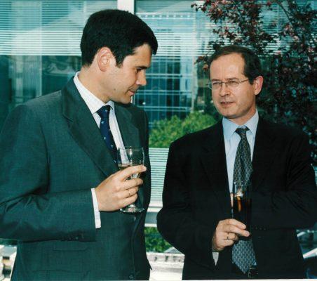 Jose Mª Sanz Magallón y Tomás San Juan