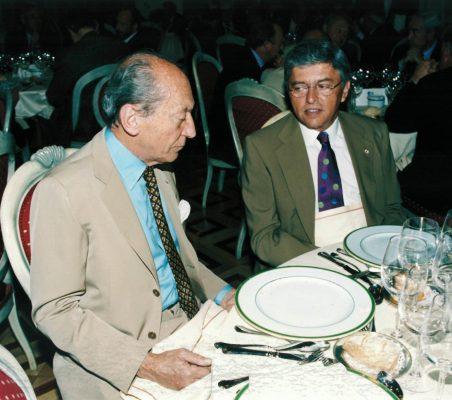 Embajador Raniero Vanni D'Archirafi y Embajador Carlos Moreira