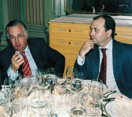 Félix Santamaría y  Alfredo Soriano