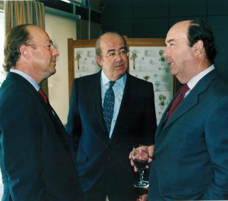 Javier Díez de Polanco , Emilio Novela y  y Salvador Martos