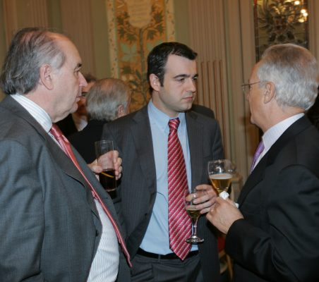 Miguel Vergara, Maurici Lucena y Ángel Durández