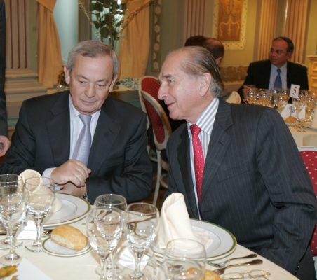 Carlos Solchaga y Bernard Jeux