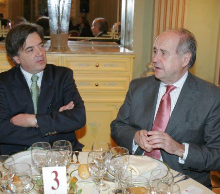 Thomas Neisinger y Miguel Vergara
