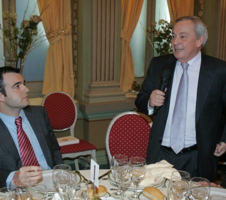 Maurici Lucena y Carlos Solchaga
