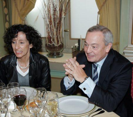 Mercedes Cabrera y Carlos Solchaga
