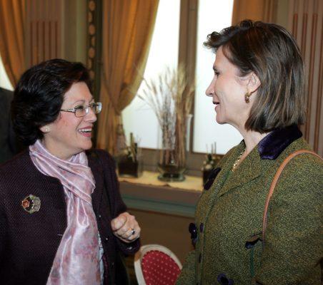 Pilar Zugaza y Asunción Valdés