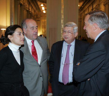Bárbara Navarro, Miguel Vergara Rafael Puyol y Carsten Moser