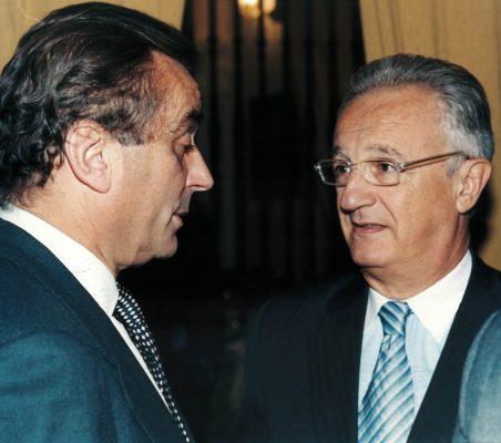 Carlos Fernández-Lerga y Ángel Durández