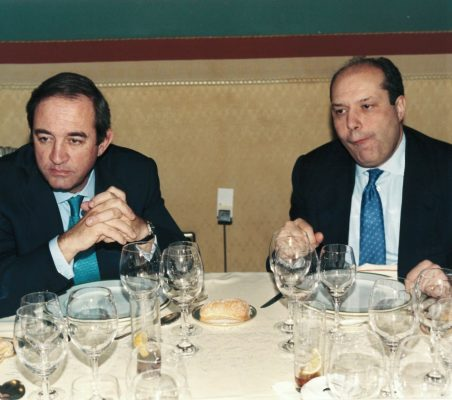 Claudio Boada y Rafael Roldán