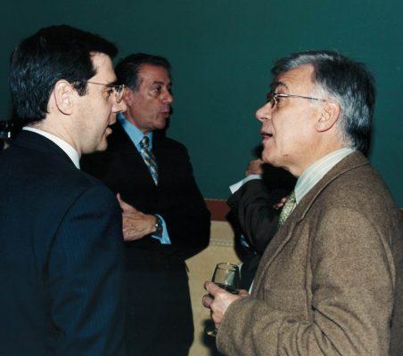 Ignacio Madridejos, Carlos Salas y Antonio Gracia