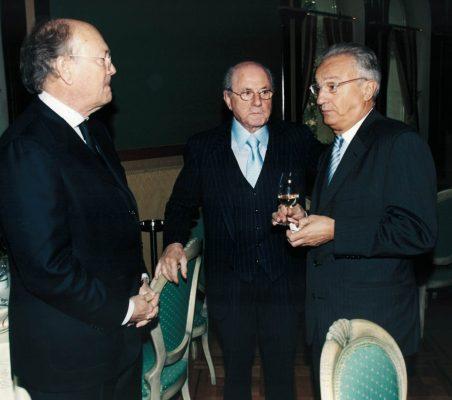 Javier Ramiro, Eduardo de Santis y Ángel Durández
