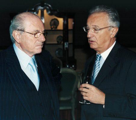 Eduardo de Santis y Ángel Durández