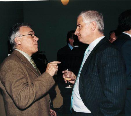 Antonio Gracia y Alfonso Martínez de Irujo