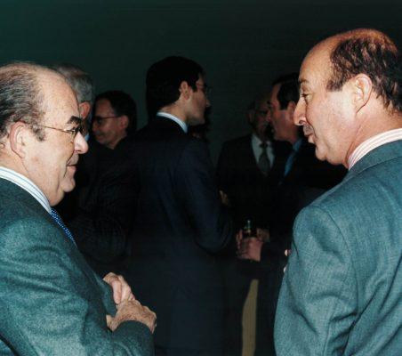 Emilio Novela y Miguel Iraburu