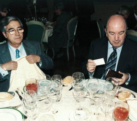 Pedro Fernández Céspedes, y Joaquín Almunia