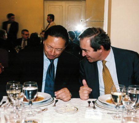 Pedro Malán y Claudio Boada