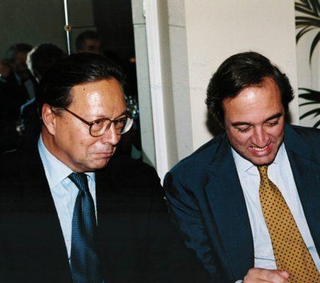 Pedro Malan y Claudio Boada