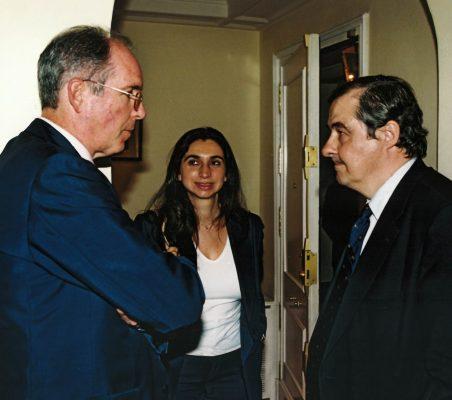 Silvia Nadelar y Antonio Ortega