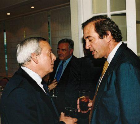 Carlpos Solchaga y Claudio Boada