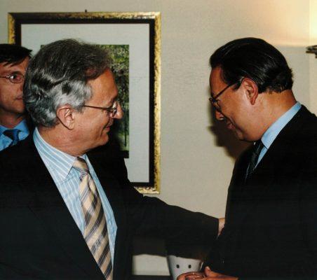 Ángel Durández y Pedro Malán