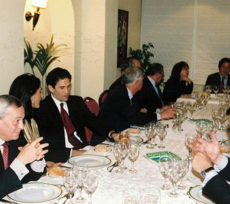 Almuerzo Orozco, Gil y Rubin (2)