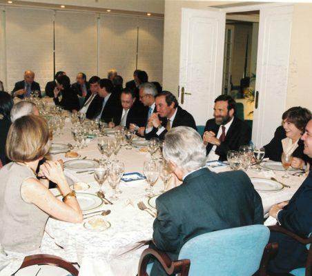 Invitados Almuerzo Orozco, Gil y Rubin
