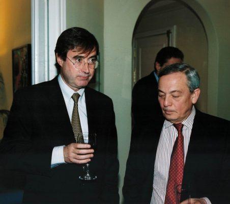 Claudio Aranzadi y Carlos Solchaga