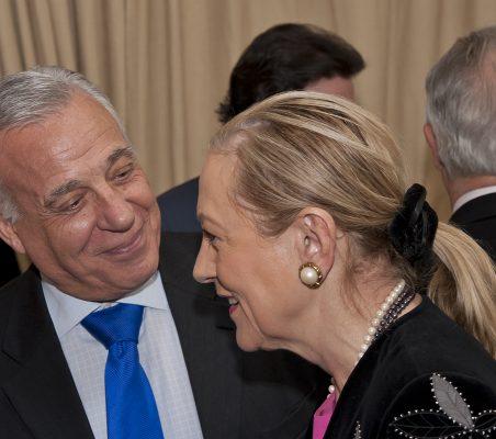 Antonio Gracia y Benita Ferrero-Waldner