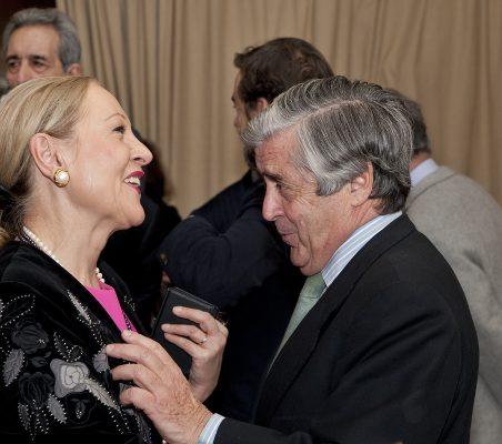 Benita Ferrero-Waldner y Alfonso Ruiz de Assin