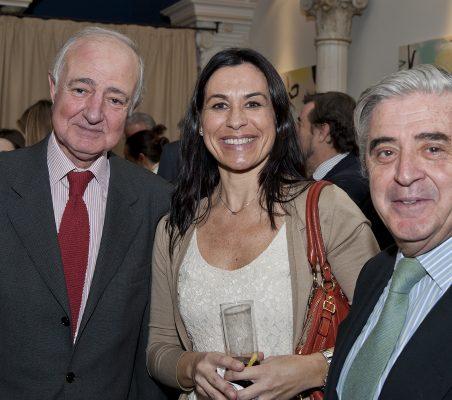 Emilio Gilolmo, Cristina Amor y Alfonso Ruiz de Assin