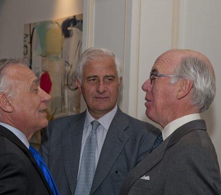 Antonio Gracia, Alfonso Martínez de Irujo y Manuel de Olazábal