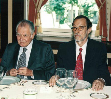 Patricio Aylwin y Emilio Cassinello