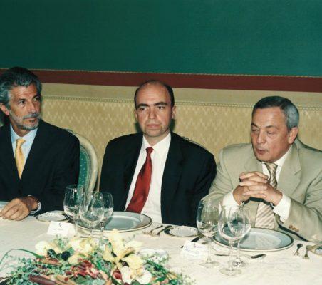 Alfredo Noman, Juan Osuna y Carlos Solchaga