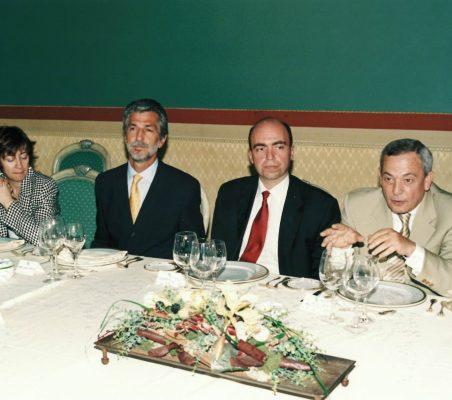 Ximena Gattas , Alfredo Noman, Juan Osuna y Carlos Solchaga