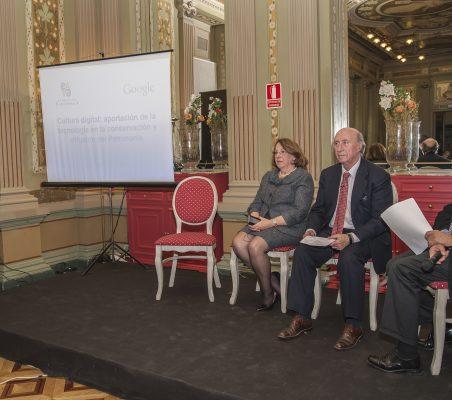 Esperanza Ibáñez, Consuelo Luca de Tena, Peridis y Ángel Durández