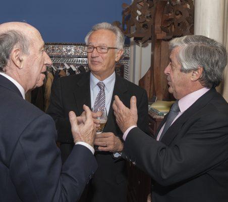 Peridis, Ángel Durández y Alfonso Ruiz de Assin