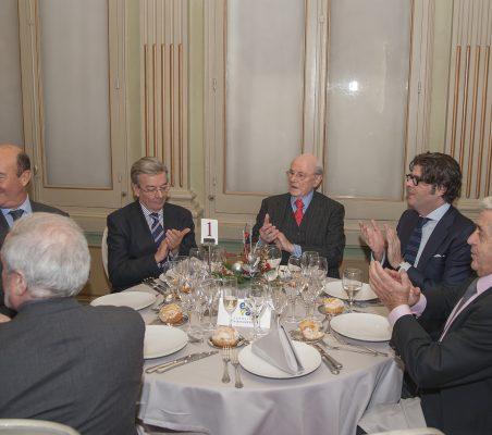 Almuerzo Peridis, Luca Tena y E. Ibáñez (4)